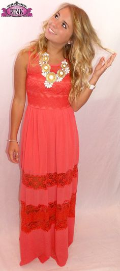 Summer Romance Lace Maxi