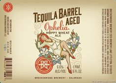 mybeerbuzz.com - Bringing Good Beers & Good People Together...: Breckenridge - Tequila Barrel Aged Ophelia