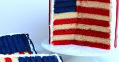 Stars and Stripes - American Flag Cake | Fourth of July | Pinterest | American Flag Cake, Flag Cake and American Flag