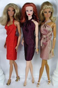 Three easy to make dresses now available on my pattern page