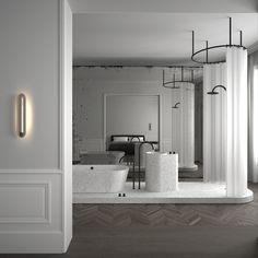 Le Apartment Paris by AD Office #bathroom