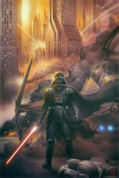 Darth Vader at the Ghost Prison