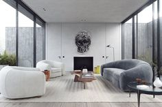 Living Room in by Nicolas Schuybroek architects