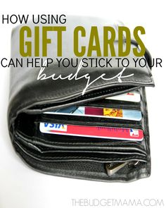 If you are struggling with your budget maybe using gift cards is the answer. Using gift cards to budget is a great way to make sticking to it easier.
