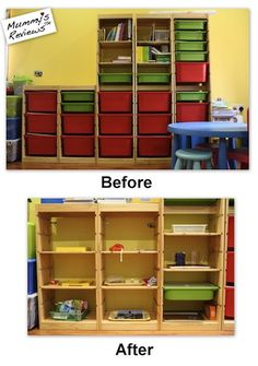 Crear un espacio adecuado, ofreciendo al niño tan solo unos pocos juguetes. El resto se debe ir rotando