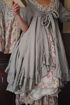 Frilly layers
