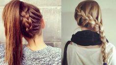 Trenzas chulas Diy Crafts Hacks, Chula, My Hair, Dreadlocks, Hair Styles, Beauty, Beautiful, Google, Fashion