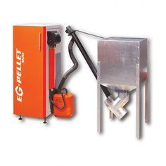 EG PELLET MINI http://ekogren.pl/produkt/17/eg-mini-pellet  EG PELLET-MINI jest automatycznym urządzeniem grzewczym na pelety,z palnikiem typu zrzutkowego zamontowanym z boku kotła.Dzięki budowie płomieniówkowej wymiennika,kocioł posiada znacznie wyższą sprawność w porównaniu do tradycyjnych wymienników półkowych.Innowacyjny system czyszczenia wymiennika uruchamiany jest przez zamontowaną z przodu kotła dźwignię.