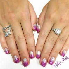 #nails #nailart #nailporn #naturalnails #gelmani #gelnails #glittergel #glitternails #looseglitter #glitterombre #LasVegasNails #Vegas #Jxlyn_Nails