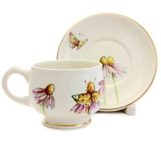 $19.00 Special Price - Pottery Cup and Plate Set - Visit our website for more information: http://catalog.obitel-minsk.com/ceramics-workshop -  #CatalogOfGoodDeeds #pottery #ceramic #handmade #purchase #order #customize #flowers #deliver #worldwide #shipping #cup #plate #sugar bowl #unique #glaze #mugs #unique #tea set #handpainted #purchase #buy #gift #souvenir #present #christmas #crafts #tea #overglaze #quality #cup #mug #saucer #plate