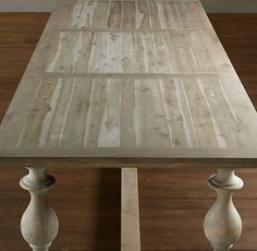 17th Century Monastery Table -- Restoration Hardware.