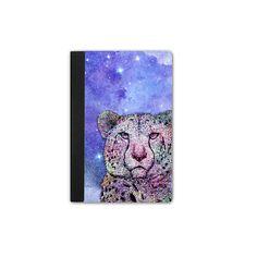 iPad Mini Galaxy Cheetah Purple - iPad Mini 4 Tablet Case