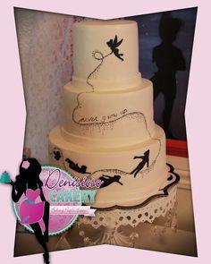 Denisioso Cakery   Peter Pan cake, Tinkerbell cake, Never Grow Up