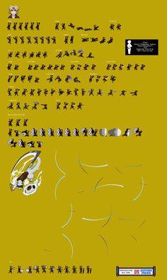 Sprite Database : Temari
