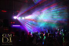 Party lights at a school disco #gmdjs #party #lights #disco #dj #dancing #school