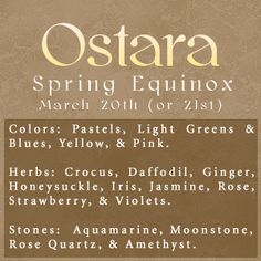 Sabbats and Esbats - Ostara (Spring Equinox) Wicca Witchcraft, Pagan Witch, Magick, Witches, Samhain, Mabon, Which Witch, Vernal Equinox, Party Decoration