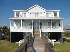 Edisto Realty - A Dose of Edisto - Designer decorated beachfront house - Edisto Island, SC