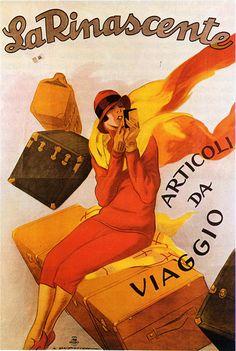 artdeco.quenalbertini: Deco Ad poster by Marcello Dudovich, 1925