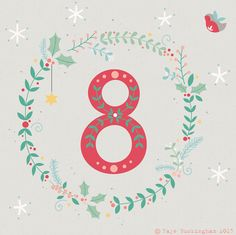 Day 8 Christmas Advent, by Faye Buckingham