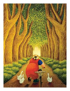 Home from the Market Poster by Lowell Herrero at AllPosters.com