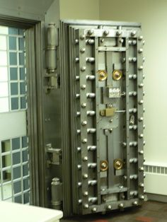 Key Bank Vault Door