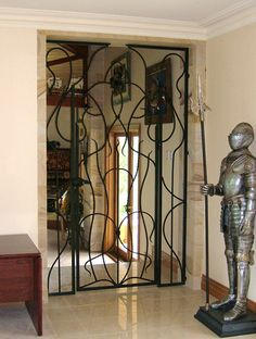 Wrought iron doors - Internal and external-4