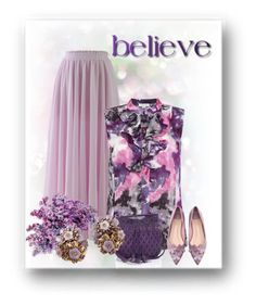 """Believe"" by sensitiveheart ❤ liked on Polyvore featuring Chicwish, Tahari by Arthur S. Levine, WithChic and Isabella Fiore"