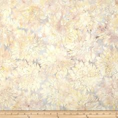 Designed by McKenna Ryan for Hoffman International Fabrics,this Indonesian batik is perfect for quilting, craft projects, apparel and home décor accents. Colors include grey, yellow, cream, and taupe.