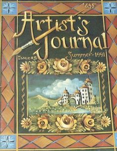 Artist's Journal Summer 1991 Jo Sonja Jansen Painting Pattern Book | eBay