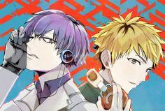 Nagachika hideyoshi and kuki urie - tokyo ghoul - tokyo ghoul:re