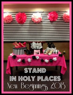 STAND in Holy Places New Beginnings idea by Marci Coombs. Are you wearing the right shoes?