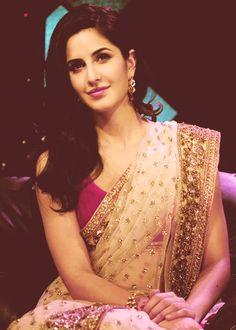 the sari is gorgeous!