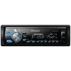 Pioneer Single-din In-dash Digital Media Receiver With Short Chassis Design Mixtrax Bluetooth Siri Eyes Free Usb Pandora Ready & Android Music Support