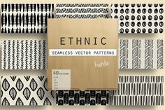 Ethnic Patterns  by Youandigraphics on @creativemarket