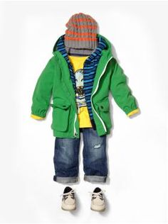 Chasing spring...little boys outfit!