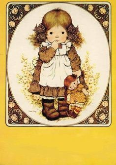 Sarah Kay Sarah Kay, Decoupage, Dear Mom, Raggedy Ann And Andy, Holly Hobbie, My Childhood Memories, Whimsical, Card Making, My Love