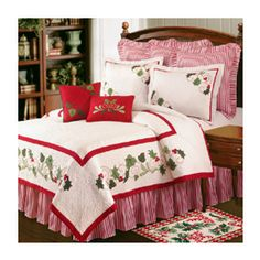 christmas comforters holiday traditions christmas quilt luxury queen bedding ensembles - Christmas Bedding Holiday Bedding