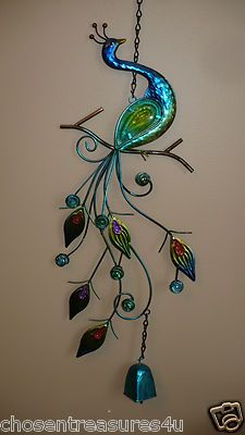 Peacock wind-chime