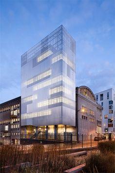 VOLTAIRE BUILDING CULTURAL AND COMMUNITY TOWER - PARIS DIDEROT UNIVERSITY PARIS / FRANCE / 2010 #architecture