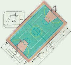 Medida certa: confira as dimensões de 10 quadras esportivas - Casa