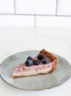 Raw Blueberry Cheesecake - DeliciouslyElla