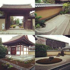 大徳寺塔頭@京都 龍源院 Tatchu of Daitokuji Temple.Ryugennin. 枯山水、石庭が見事!! #大徳寺塔頭 #龍源院 #kyoto  #庭園 #temple  #daitokuji #カメラ #写真 #東京カメラ部 #旅行 #旅 #travel #journey #trip #sekitei  #instagramjapan  #ig_japan  #icu_japan  #写真好きな人と繋がりたい #写真撮ってる人と繋がりたい #カメラ好きな人と繋がりたい