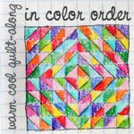 In Color Order: Warm Cool Quilt Along - Machine Quilt Binding Tuto...