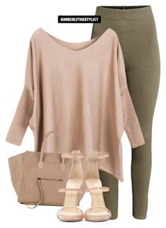 """""""Untitled #2332"""" by whokd ❤ liked on Polyvore featuring H&M, CÉLINE and Giuseppe Zanotti"""