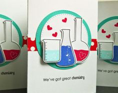 Anniversary Card for Him Geeky I Love You Card by apaperaffaire