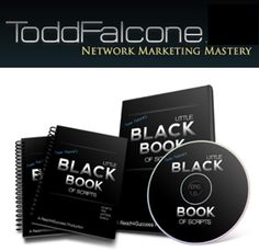 This is hands down the best recruiting and sponsoring scripts I've seen.  I love that Todd Falcone and his Little Black Book of Scripts!    http://amyjoneal.com/LBB  #toddfalcone #sponsoringreps