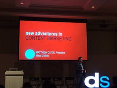Can't go to a digital summit without getting the low down on content marketing. #digitalmarketing #DSPDX16