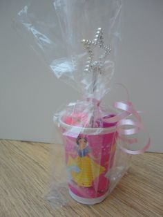 These Cello Gift bags are even ideal for children s birthday parties! www.bakerscreations.com #childrensparties #pink #giftbags