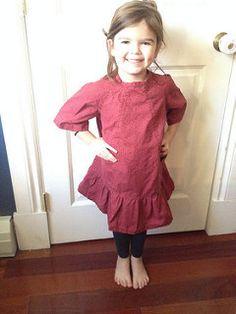 Digital Carousel Dress Sewing Pattern | Shop | Oliver + S