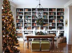 Fabulous bookshelves - staging.